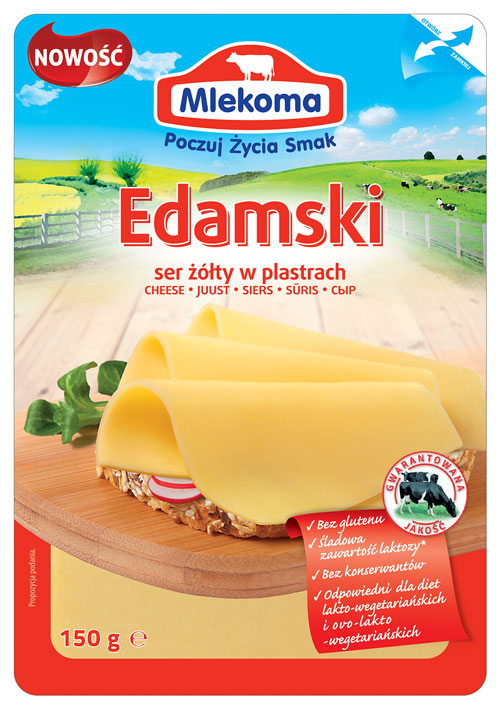 Ser żółty Edamski 150g