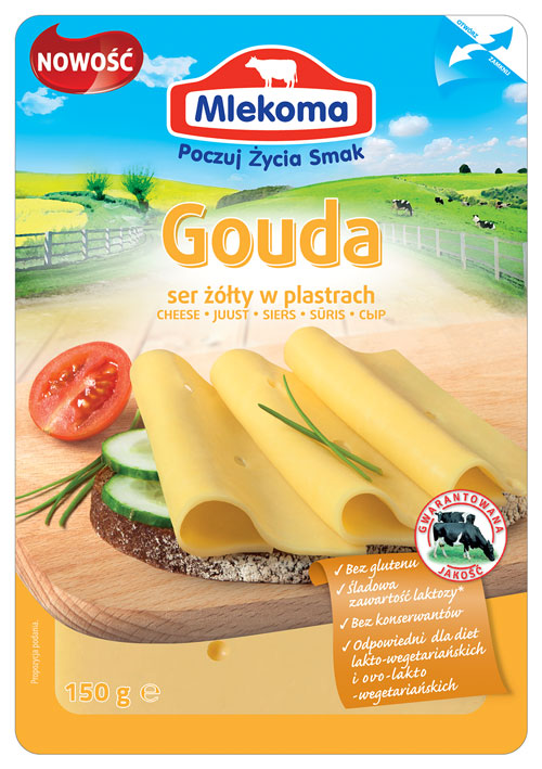 Ser żółty Gouda 150 g