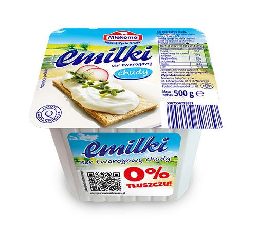 ser twarogowy Emilki chudy 500 g