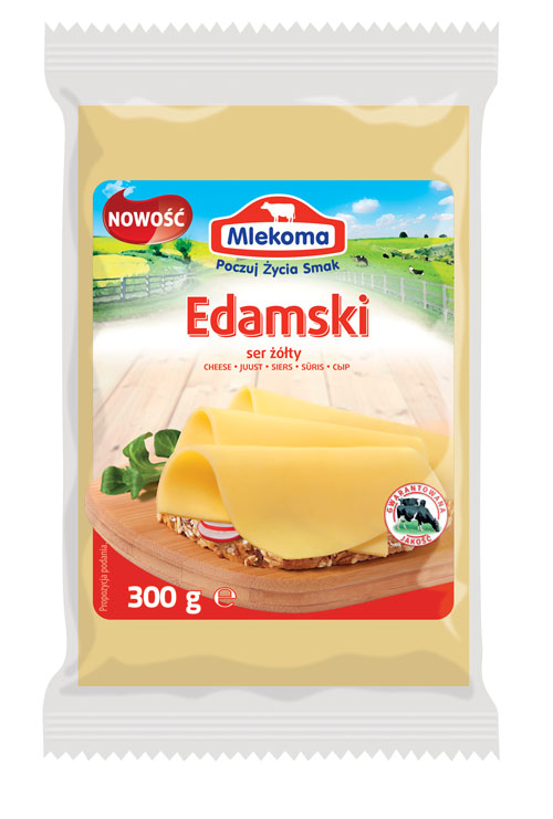 Ser edamski w porcji 300g
