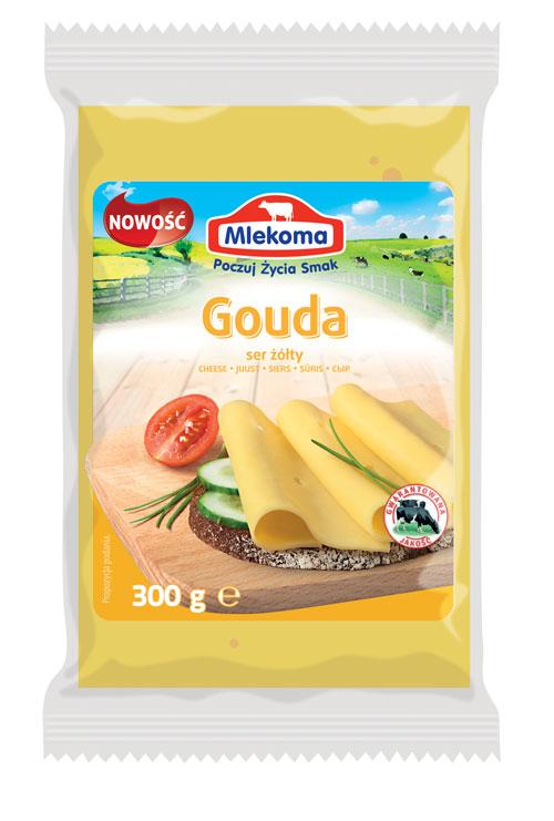 Ser Gouda w porcji 300 g