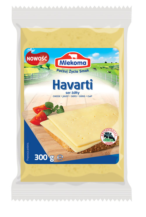 Ser Havarti w porcji 300 g