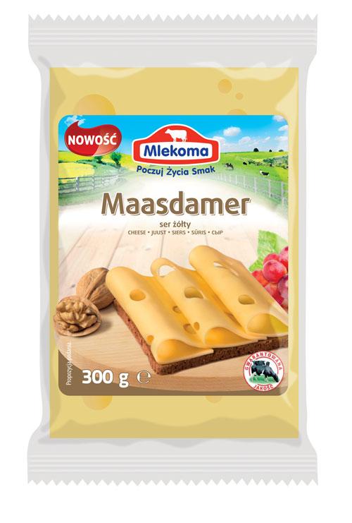 Ser Maasdamer w porcji 300g