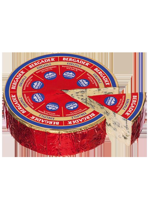 ser pleśniowy z przerostem niebieskiej pleśni Bergader Edelpilz