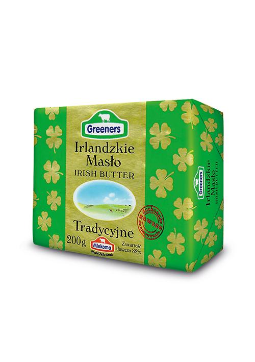 masło irlandzkie greeners 200 g